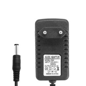 Блок питания 3V 2A 5.5x2.5 мм (адаптер, зарядное устройство) арт.70945