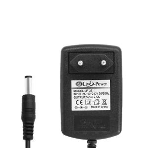 Блок питания 5V 2.5A 5.5x2.5 мм (адаптер) арт.23493