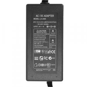 Блок питания 24V 5A 5.5x2.5 мм (адаптер, AC DC adapter) арт.22443