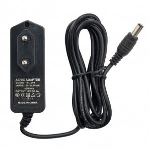 Блок питания 12V 1A 5.5x2.1 мм (адаптер, AC DC adapter) арт.78443
